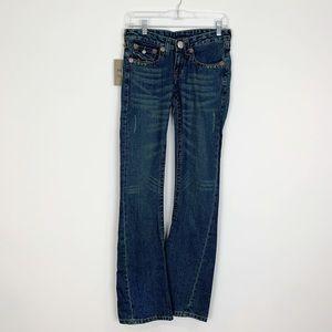 True Religion Joey Dark Wash Jeans Size 27